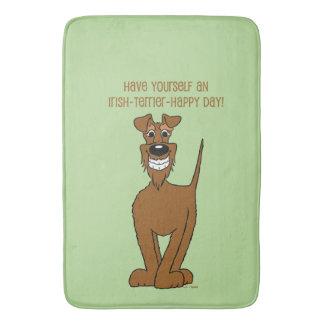Irish Terrier Smile Bath Mat