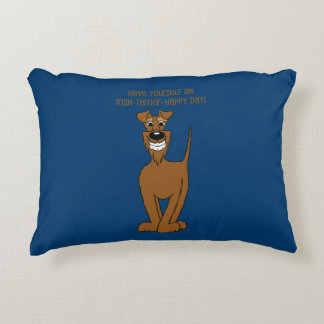 Irish Terrier Smile Decorative Cushion