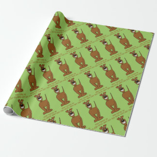 Irish Terrier Smile Wrapping Paper