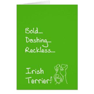 Irish Terrier the-hung Card