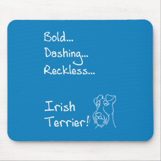 Irish Terrier the-hung Mouse Pad