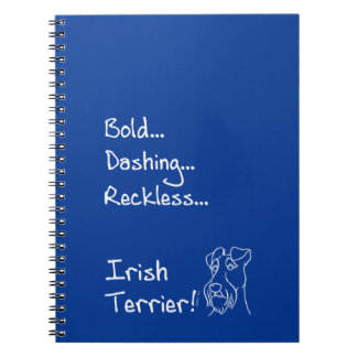 Irish Terrier the-hung Notebook