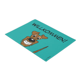 Irish Terrier welcome Doormat
