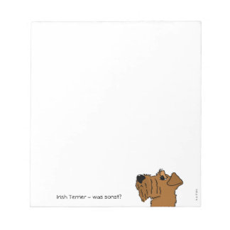 Irish Terrier - which otherwise? Notepad