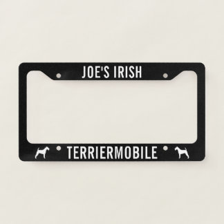 Irish Terriermobile - Irish Terrier Silhouettes Licence Plate Frame