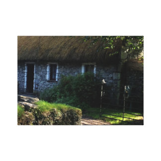 Irish Thatched Cottage Canvas Print