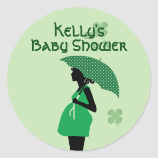 Irish theme baby bump stickers