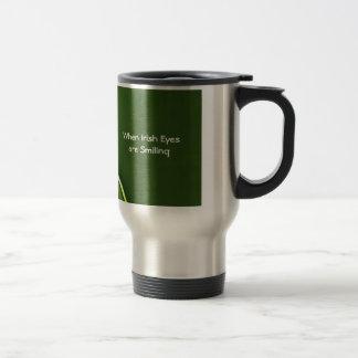 Irish Theme Stainless Travel/Commuter Mug