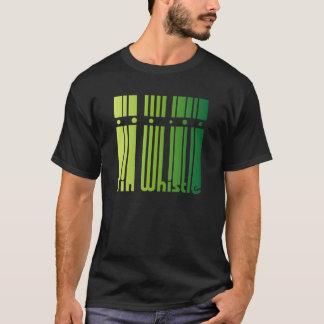Irish Tin Whistle - green logo T-Shirt