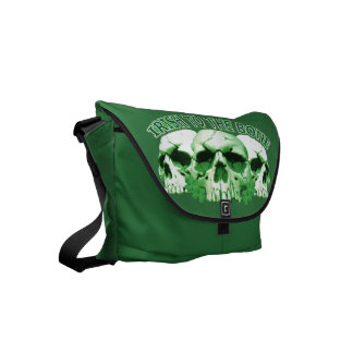 Irish to the Bone Skull Commuter Bag
