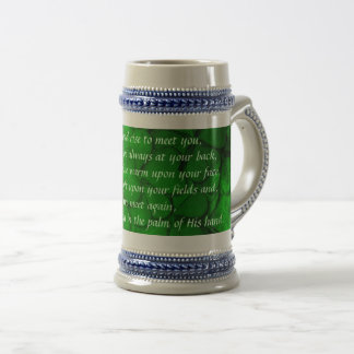 Irish Toast Beer Stein