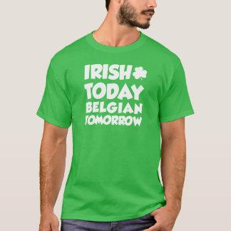 Irish Today Belgian Tomorrow (ON DARK T-Shirt