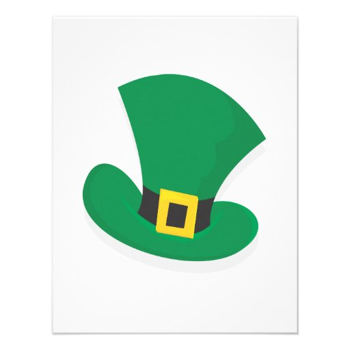 Irish Top Hat Personalized Announcement