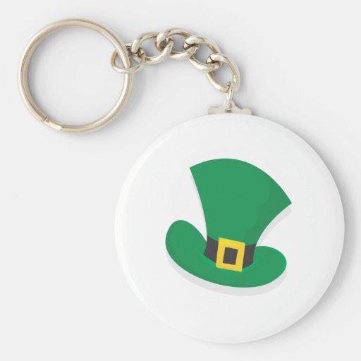 Irish Top Hat Key Chain