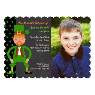 Irish Traditions Birthday Party Photo Invitation