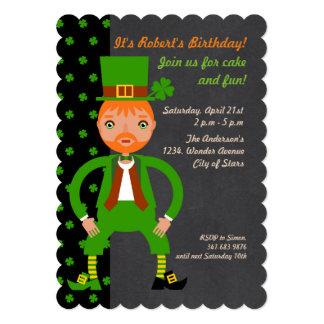 Irish Traditions Kids Birthday Party invitation