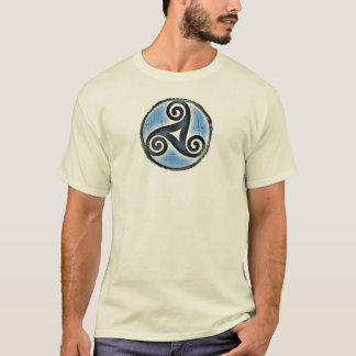Irish Triskele, Triskelion-Men's Shirt, Celtic T-Shirt