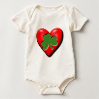Irish Valentine Baby Bodysuit