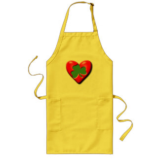 Irish Valentine Long Apron
