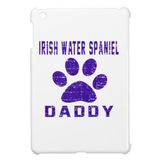 Irish Water Spaniel Daddy Gifts Designs Cover For The iPad Mini
