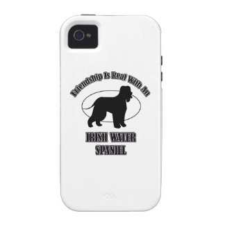 IRISH WATER SPANIEL DOG DESIGNS Case-Mate iPhone 4 COVERS