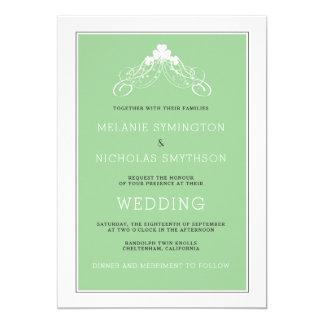 Irish Wedding Arch Invitation 3991