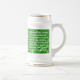 Irish  Wedding Blessing - Beer Stein