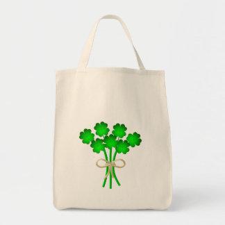 Irish Wedding Bouquet Tote Bag
