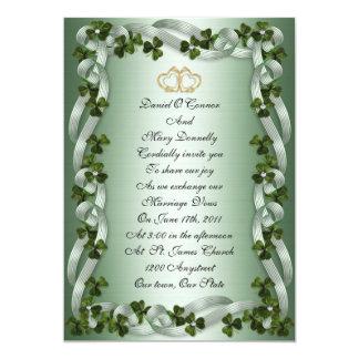Irish wedding Invitations elegant