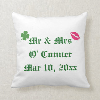 Irish Wedding Pillow