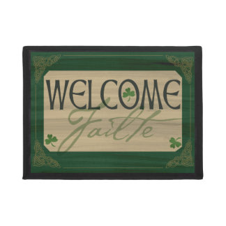 Irish Welcome Failte Mat