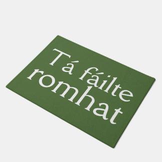 Irish Welcome Greeting Doormat