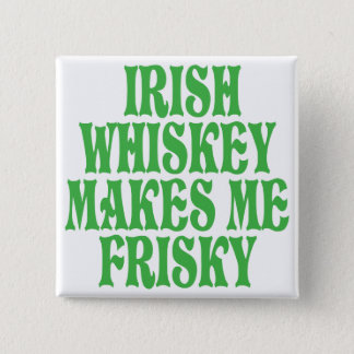 Irish Whiskey 15 Cm Square Badge