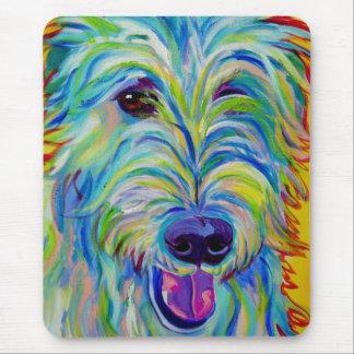 Irish Wolfhound #1 Mouse Pad