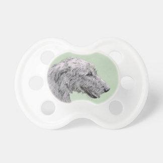 Irish Wolfhound 2 Painting - Cute Original Dog Art Dummy