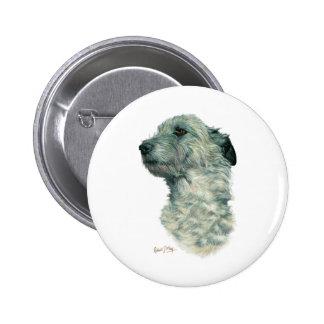 Irish Wolfhound Pinback Button