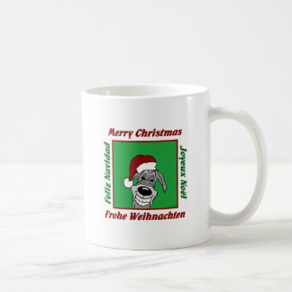 Irish Wolfhound Christmas Coffee Mug