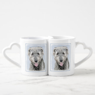 Irish Wolfhound Coffee Mug Set