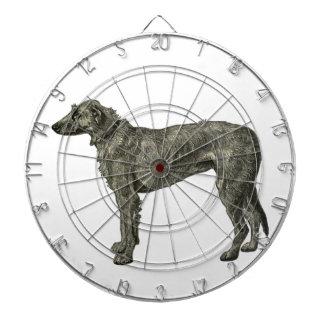 Irish wolfhound dart boards
