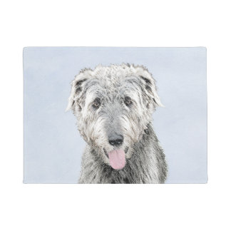 Irish Wolfhound Doormat