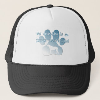 Irish Wolfhound Granddog Trucker Hat