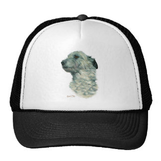 Irish Wolfhound Trucker Hats