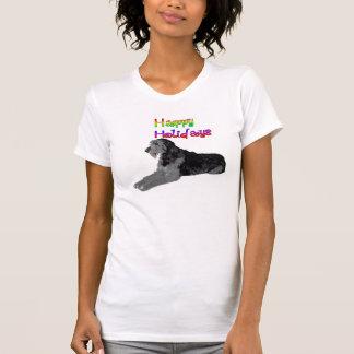 Irish Wolfhound Holiday Shirt