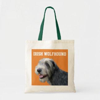 Irish Wolfhound Illustrated Tote Bag