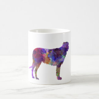 Irish Wolfhound in watercolor Coffee Mug