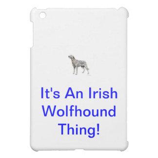 Irish Wolfhound iPad Mini Case