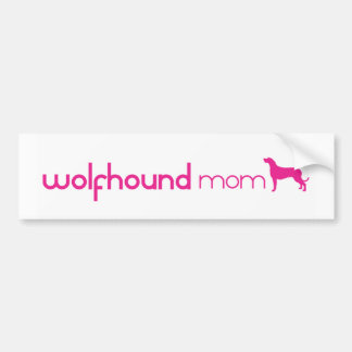 Irish Wolfhound Mom Bumper Stickers