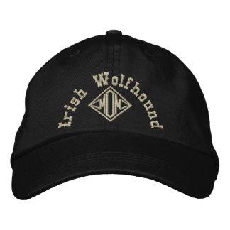 Irish Wolfhound Mom Gifts Embroidered Hat