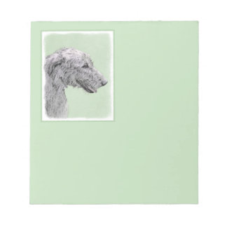 Irish Wolfhound Notepad