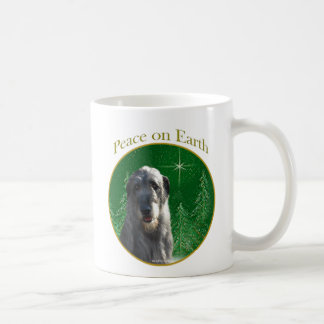 Irish Wolfhound Peace Coffee Mug